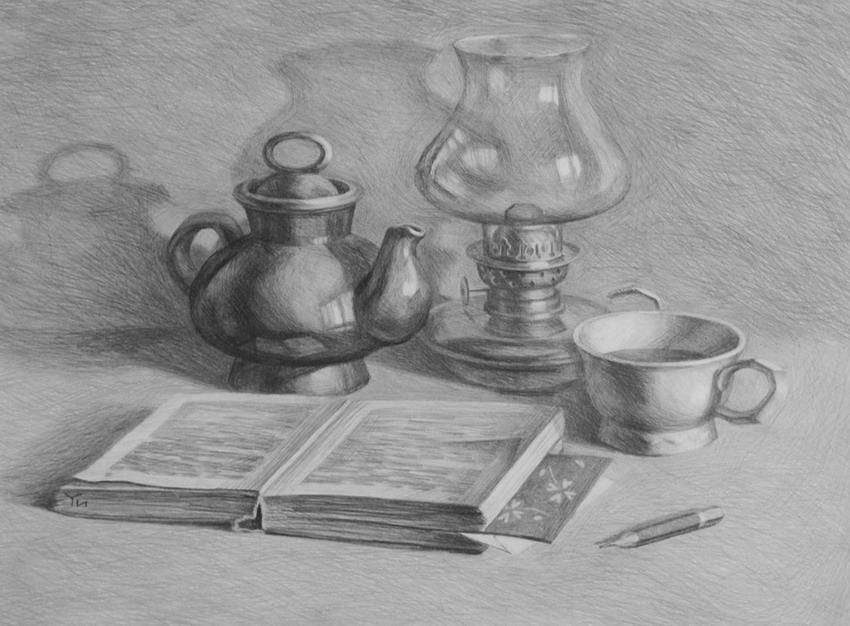 Imgenes Arte Pinturas Dibujos Realistas de Bodegones y Paisajes