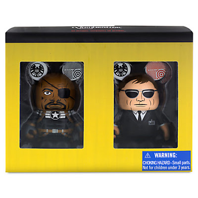 Marvel Vinylmation SHIELD 2 Pack - Nick Fury Jr. & Agent Coulson