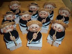 Paisanos con su flauta