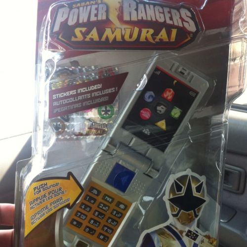 Henshin Grid: Power Rangers Samurai Toys