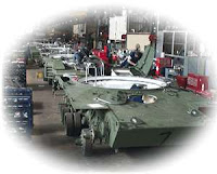 Battle Tank Assembly at Anniston Army Depot