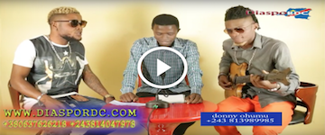 Ba musiciens ya Adolphe Dominguez bapanzi mpoke en direct du studio de Diaspordc