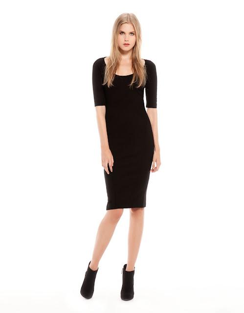 yarım kollu dar krsim siyah elbise gece elbisesi