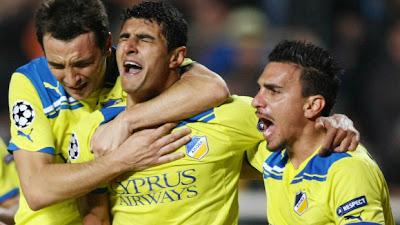 APOEL Nicosia 2 - 1 FC Porto (2)
