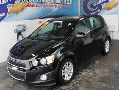 One-Owner 2012 Chevrolet Sonic 2LT for Sale Near Swartz Creek, MI