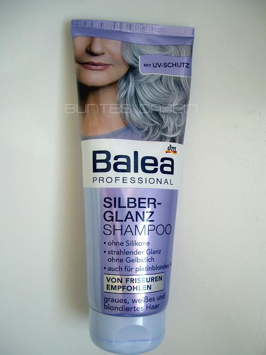 buntes dasein review balea silberglanz shampoo