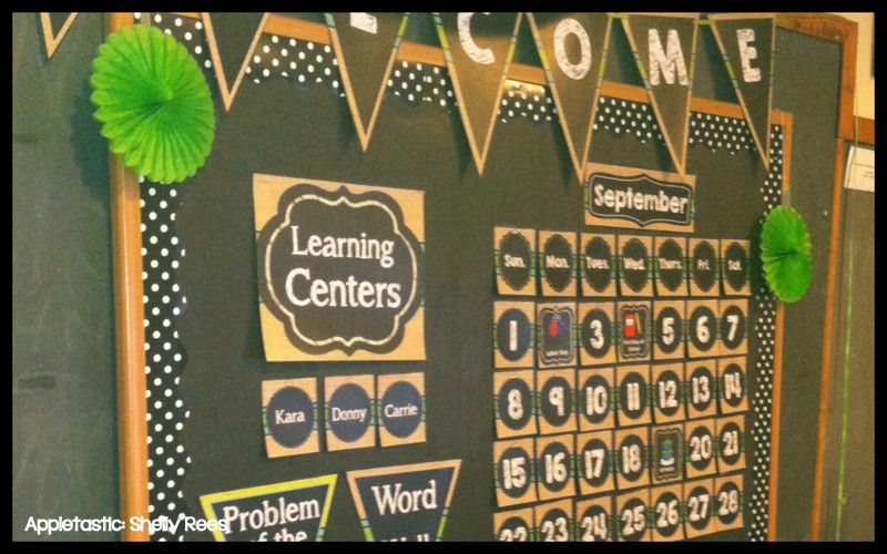 Classroom Decor Numbers ~ Classroom decor reveal chalkboard and burlap