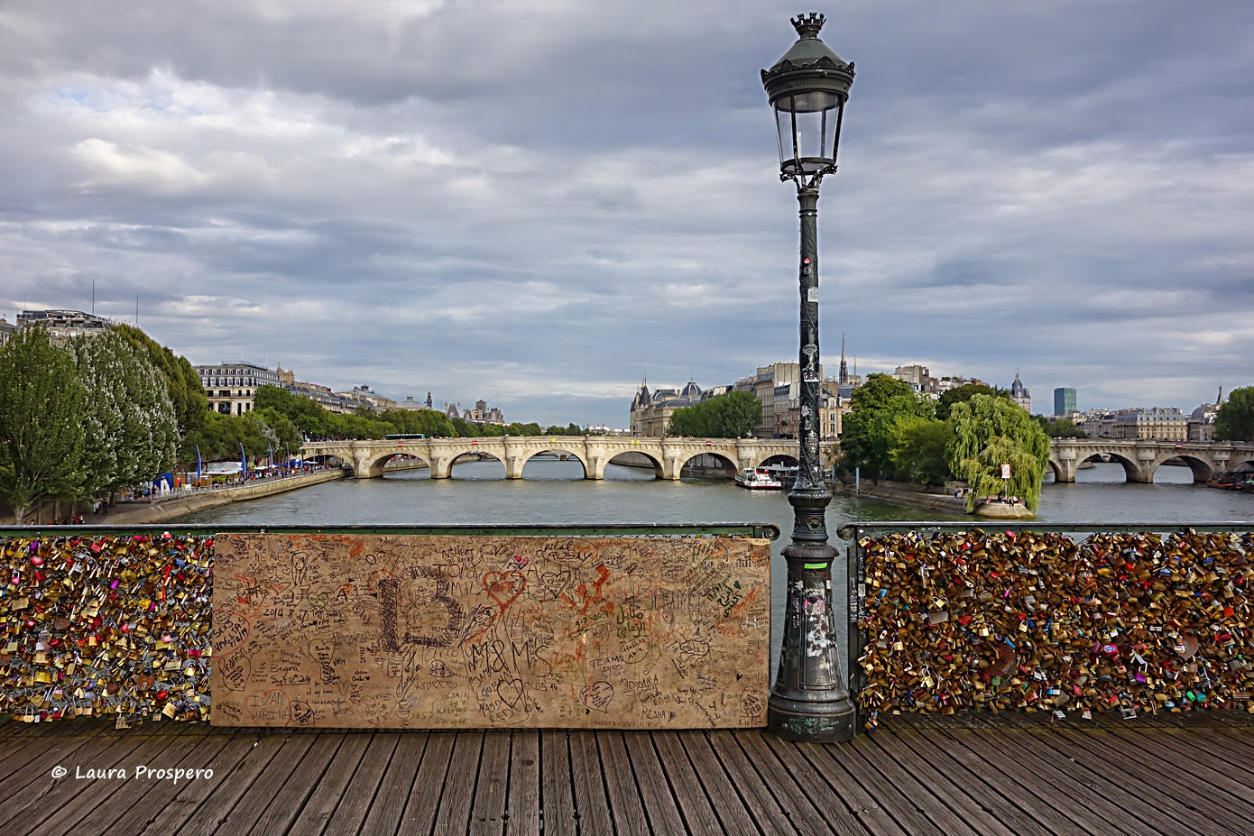 Pont des Arts 13/08/2014 @Laura Prospero