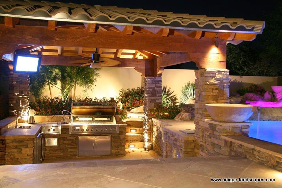 Simple Outdoor Kitchen Design Ideas Picture 03