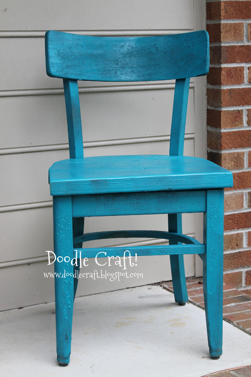 Doodlecraft Another Chair Restored Rescued