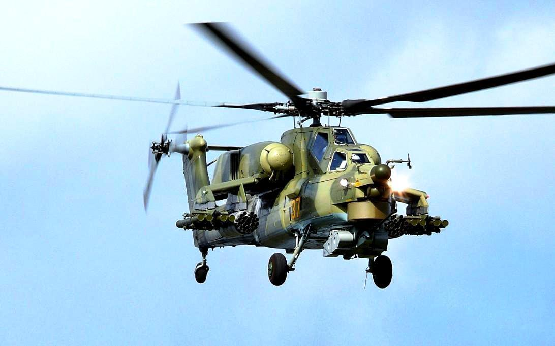 Mi-28 Havoc attack helicopter wallpaper 1
