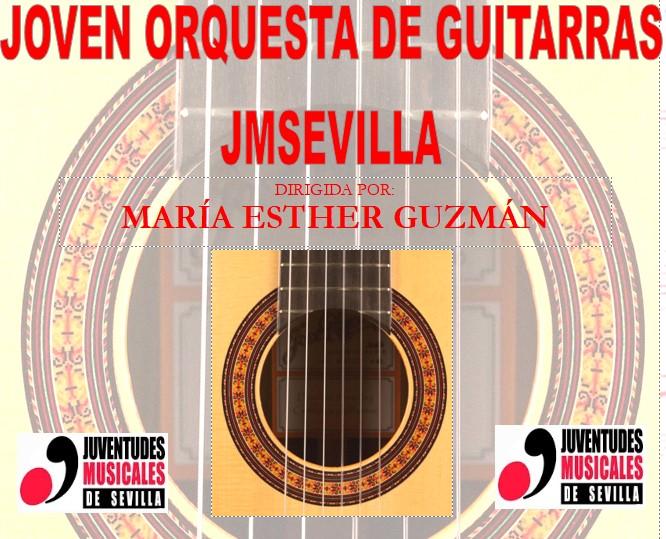 ADMITIDOS EN LA JOVEN ORQUESTA DE GUITARRAS DE JUVENTUDES MUSICALES DE SEVILLA