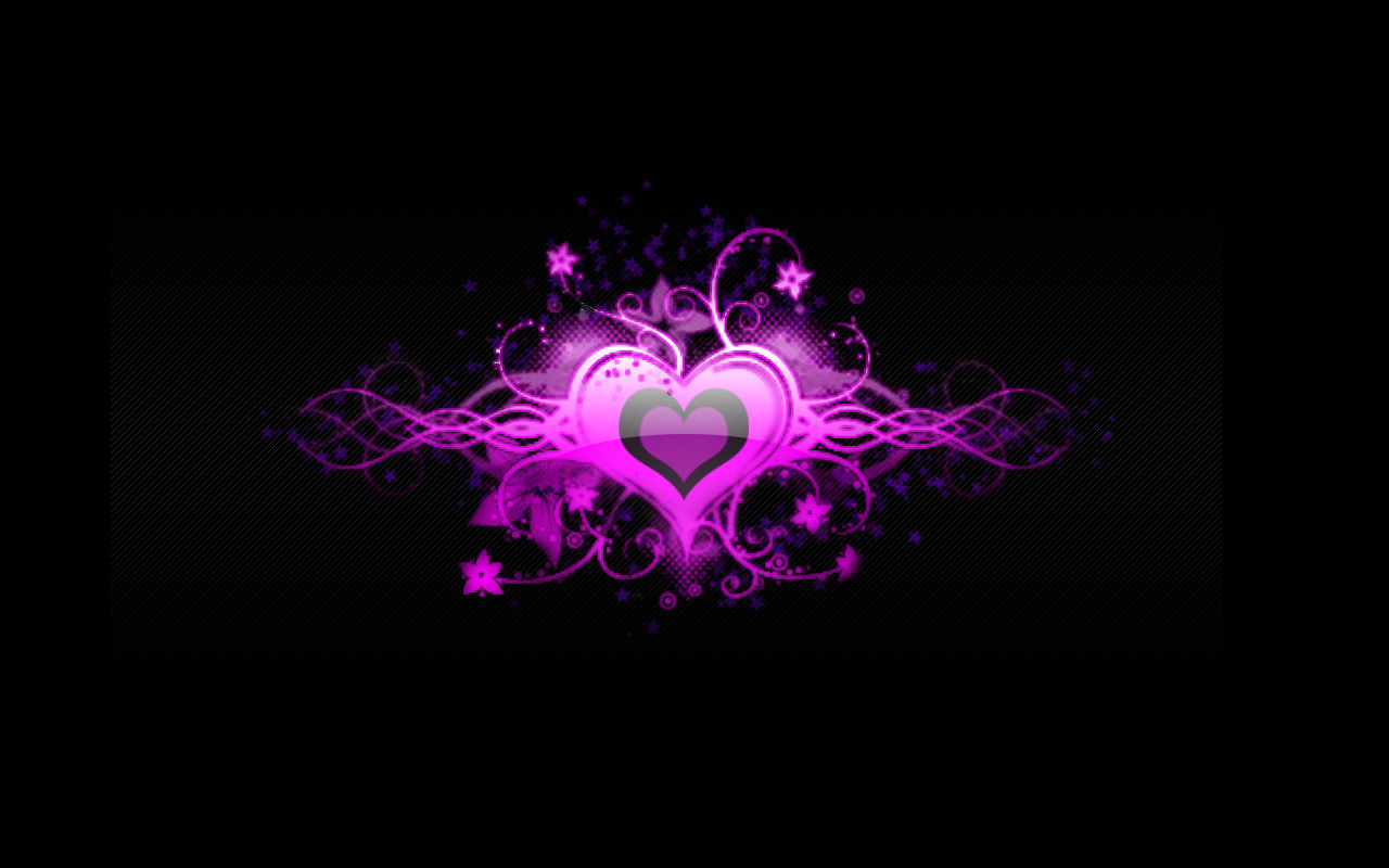 Exclusive Wallpapers Cool Pink Heart