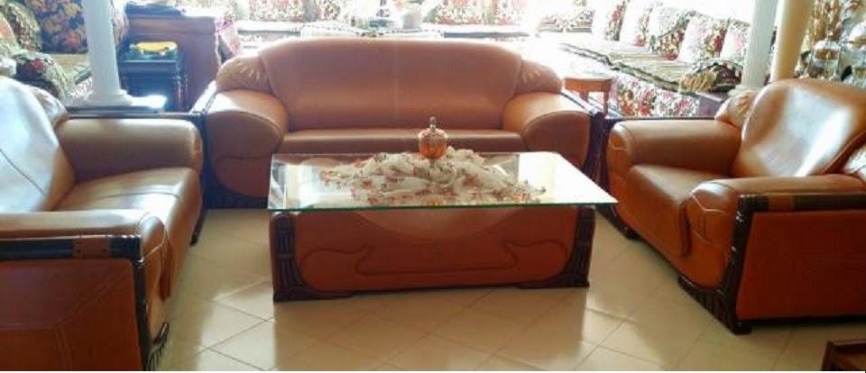 Salon Marocain Cuir | Salon Marocain