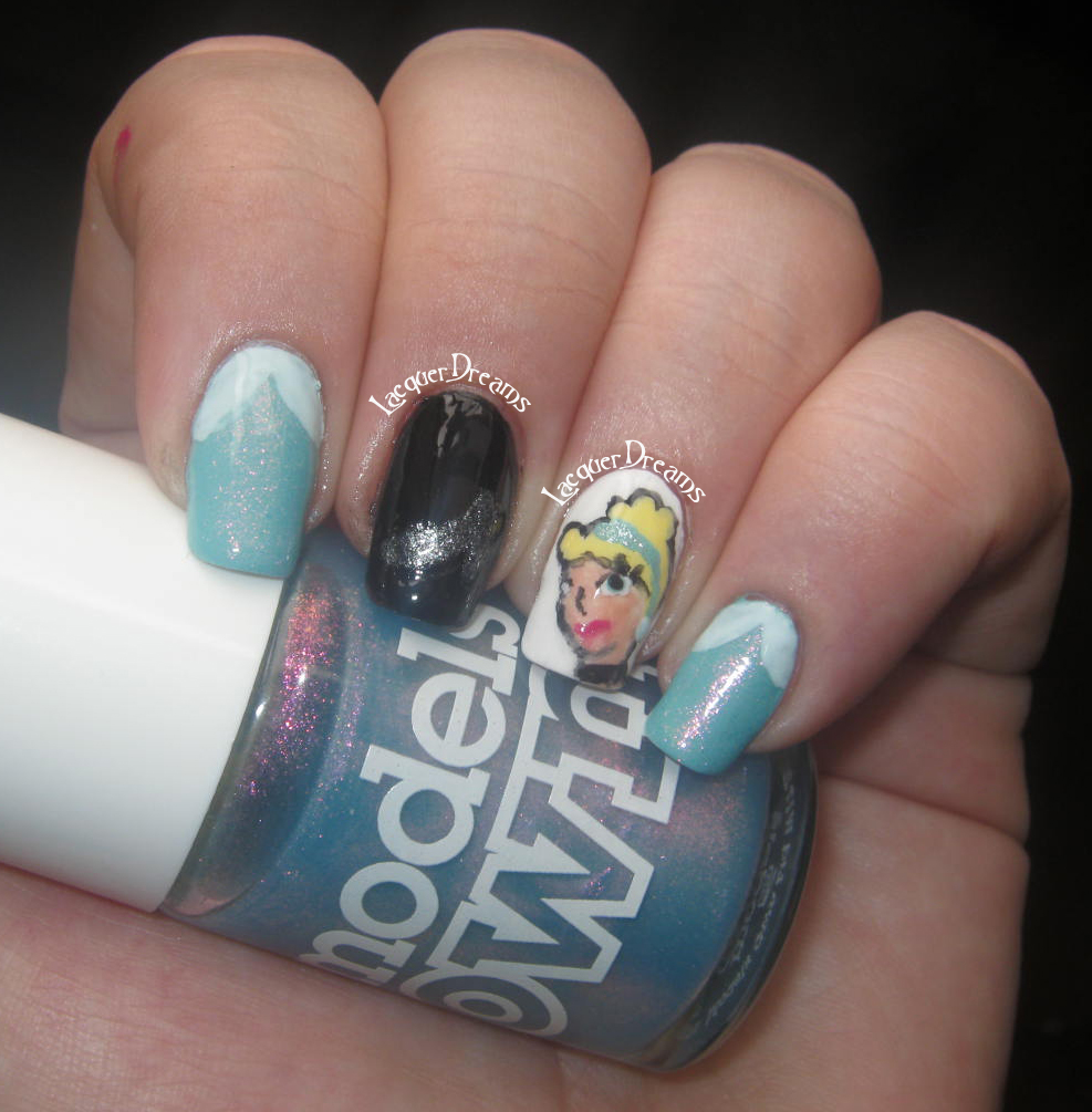 Sleeping Beauty Nails: Lacquer Dreams: Aussie Nails Disney- Sleeping Beauty And