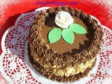 Csoki torta teljeskiőrlésű lisztből