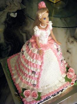 PINK DOLL CAKE