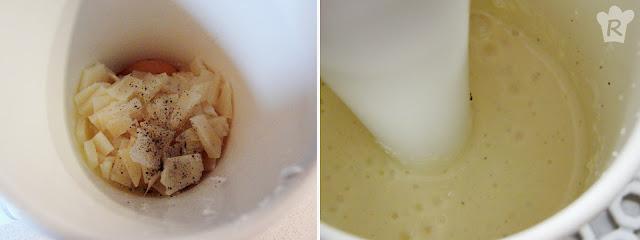 Crema batida de quesos
