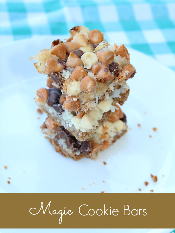 the easiest and most delicious cookie bar