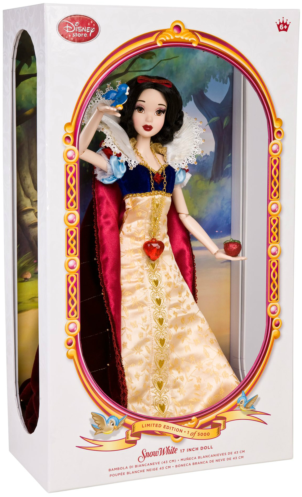 Jessica rabbit special edition doll by disney collectors dolls dark - 2009 Deluxe 17 Snow White Doll