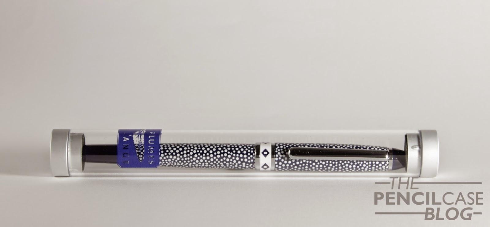 Les Plumes de L'ange 'Blanc & Bleu' fountain pen