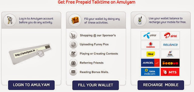 Top mobile recharge earning websites