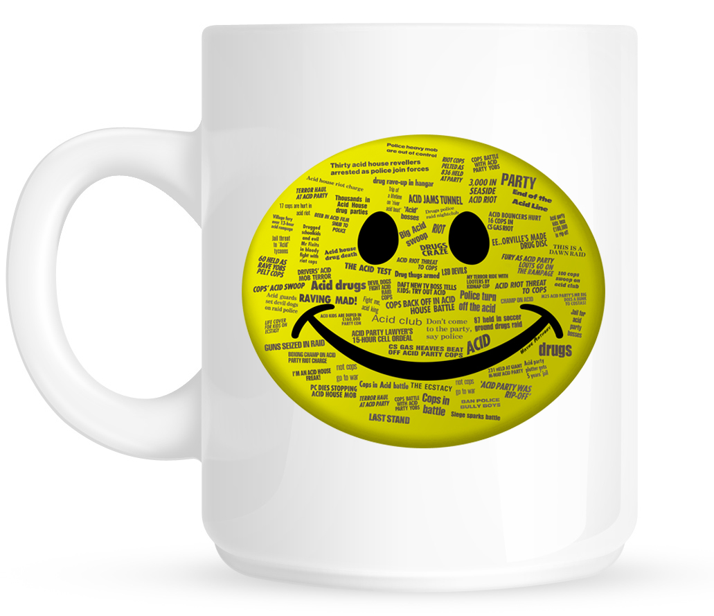 The history of acid house for Acid house labels