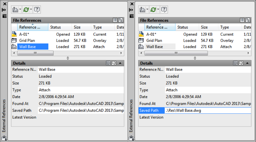 Ideate Solutions: AutoCAD 2013 Tip: Change XRef Path from Full ...