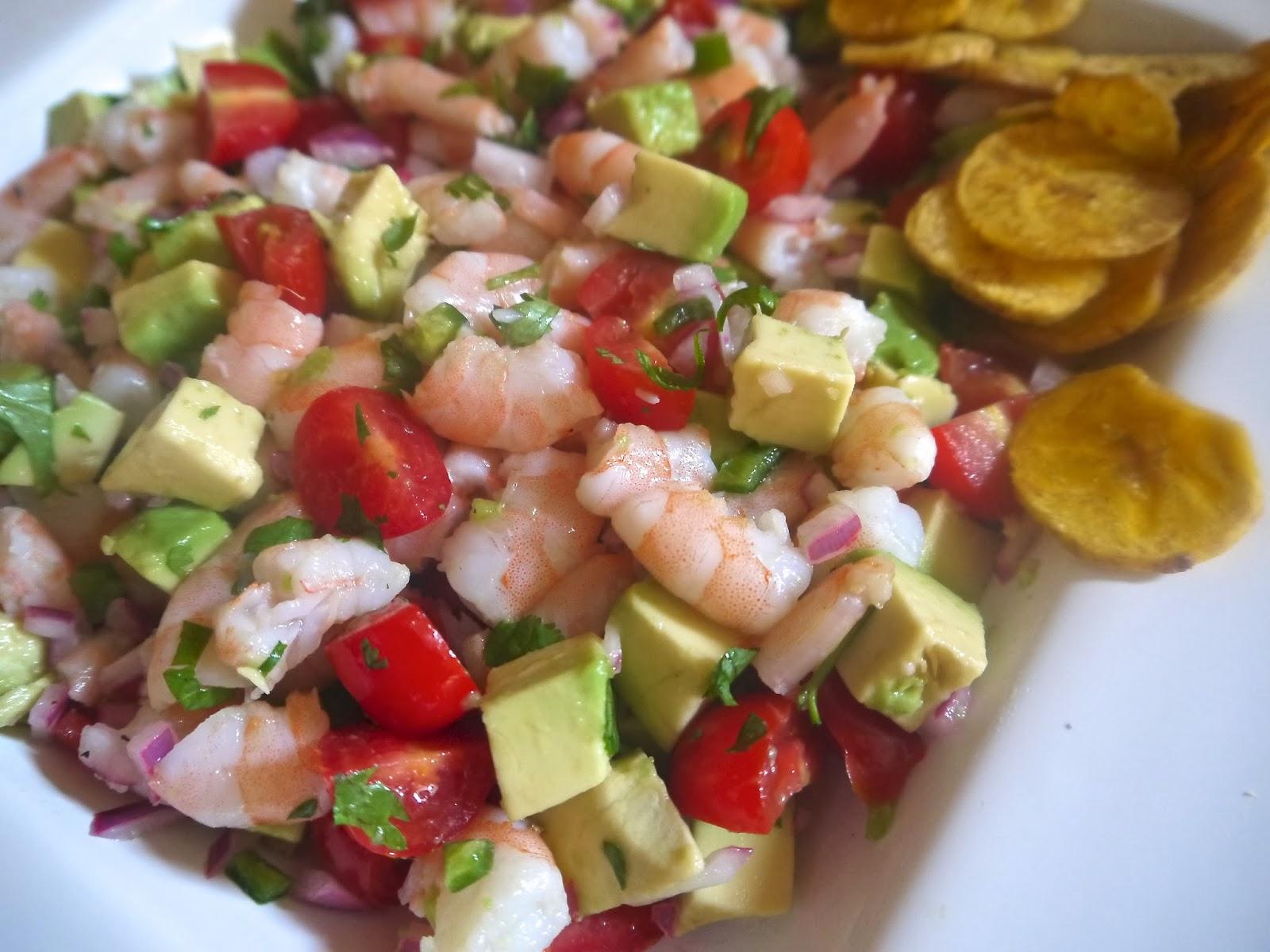 Zesty Lime Shrimp And Avocado Salad Recipe — Dishmaps