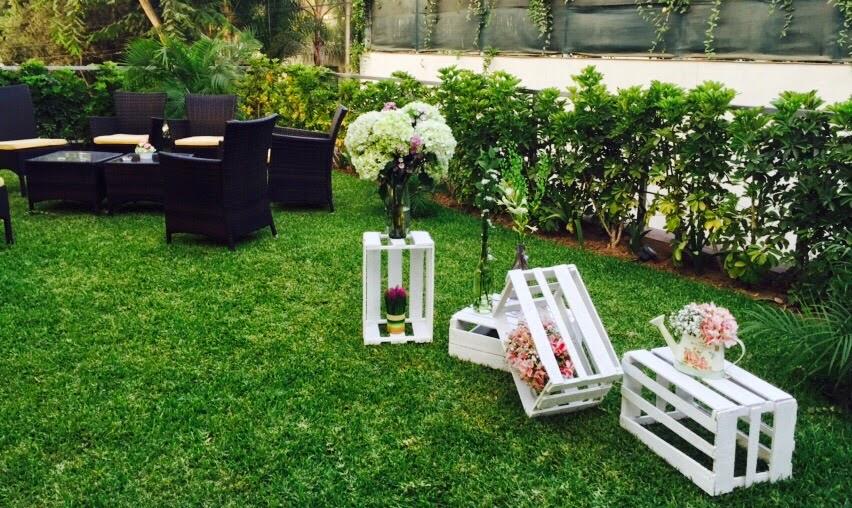 Decoraci n romantica y vintage for Articulos para decorar jardines