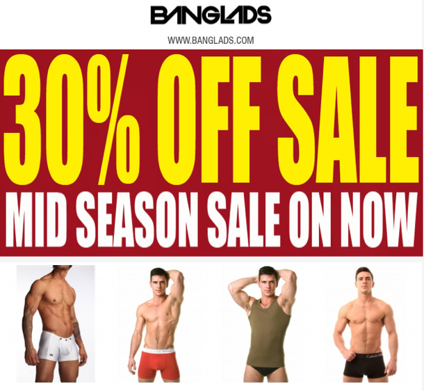 banglads underwear sale 30% off