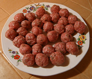 Bopcha's Plate Filled with Meatballs