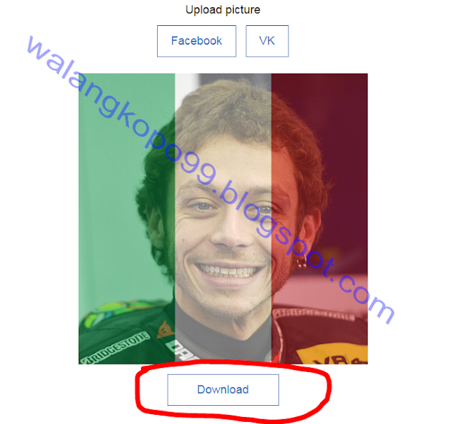 Cara Menjadikan Foto Profile Jadi ada efek Bendera Selain Bendera Prancis