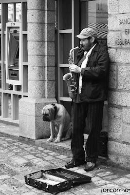 músico ambulante