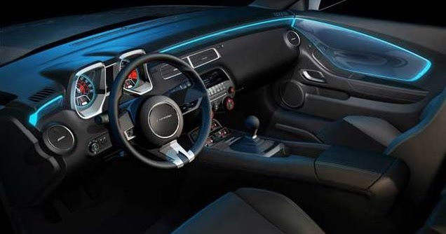 Chevy Camaro: Chevy Camaro interior lighting