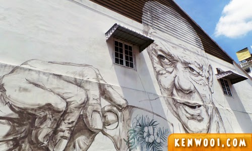 ipoh wall mural art