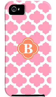 Personalized Quatrefoil iPhone 5 Case