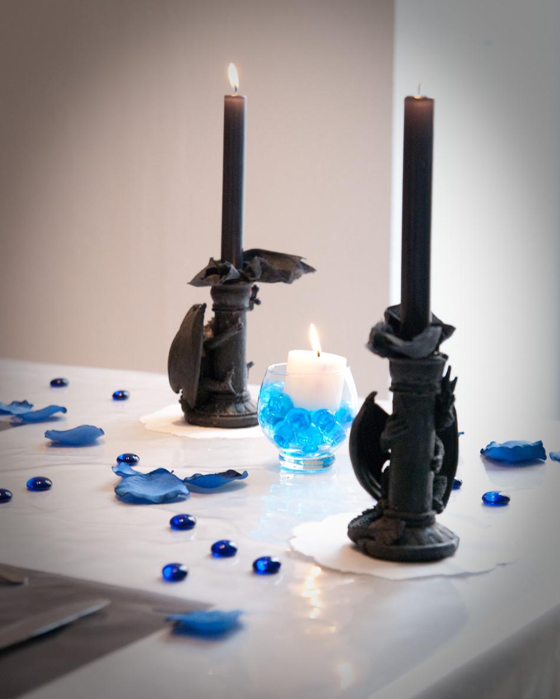 ma d co passe table d co du soir improvis e. Black Bedroom Furniture Sets. Home Design Ideas