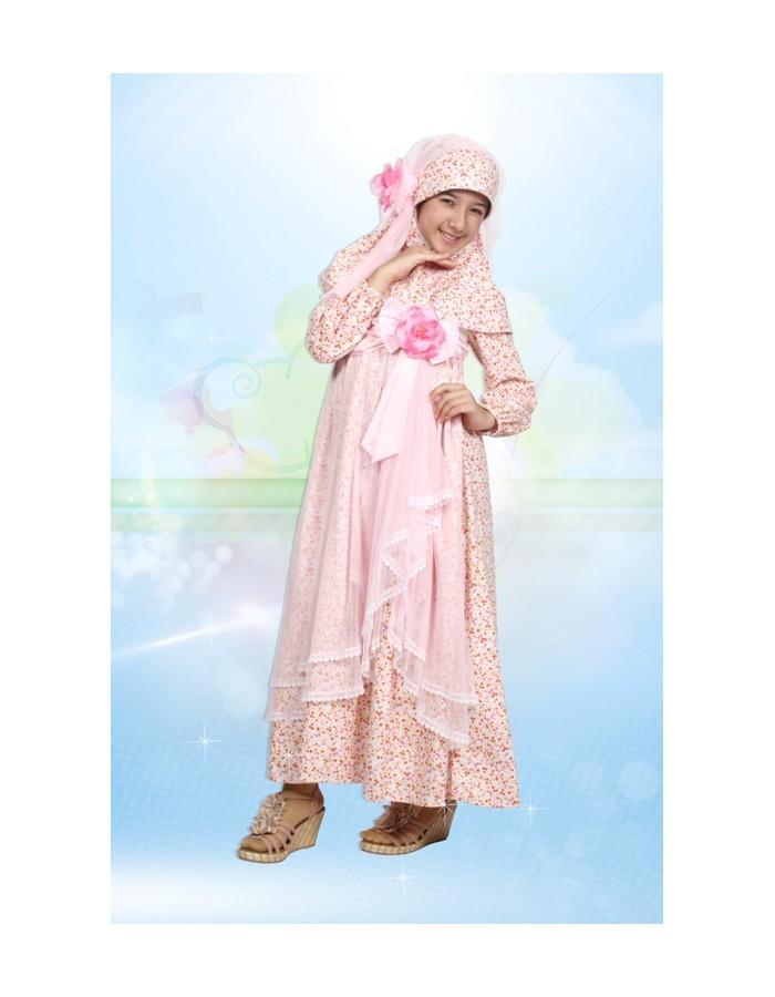 Desain Baju Gamis Anak Modern 2013-2014