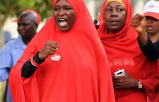 Aisha Yesufu gives reason Buhari won't secure 2nd term
