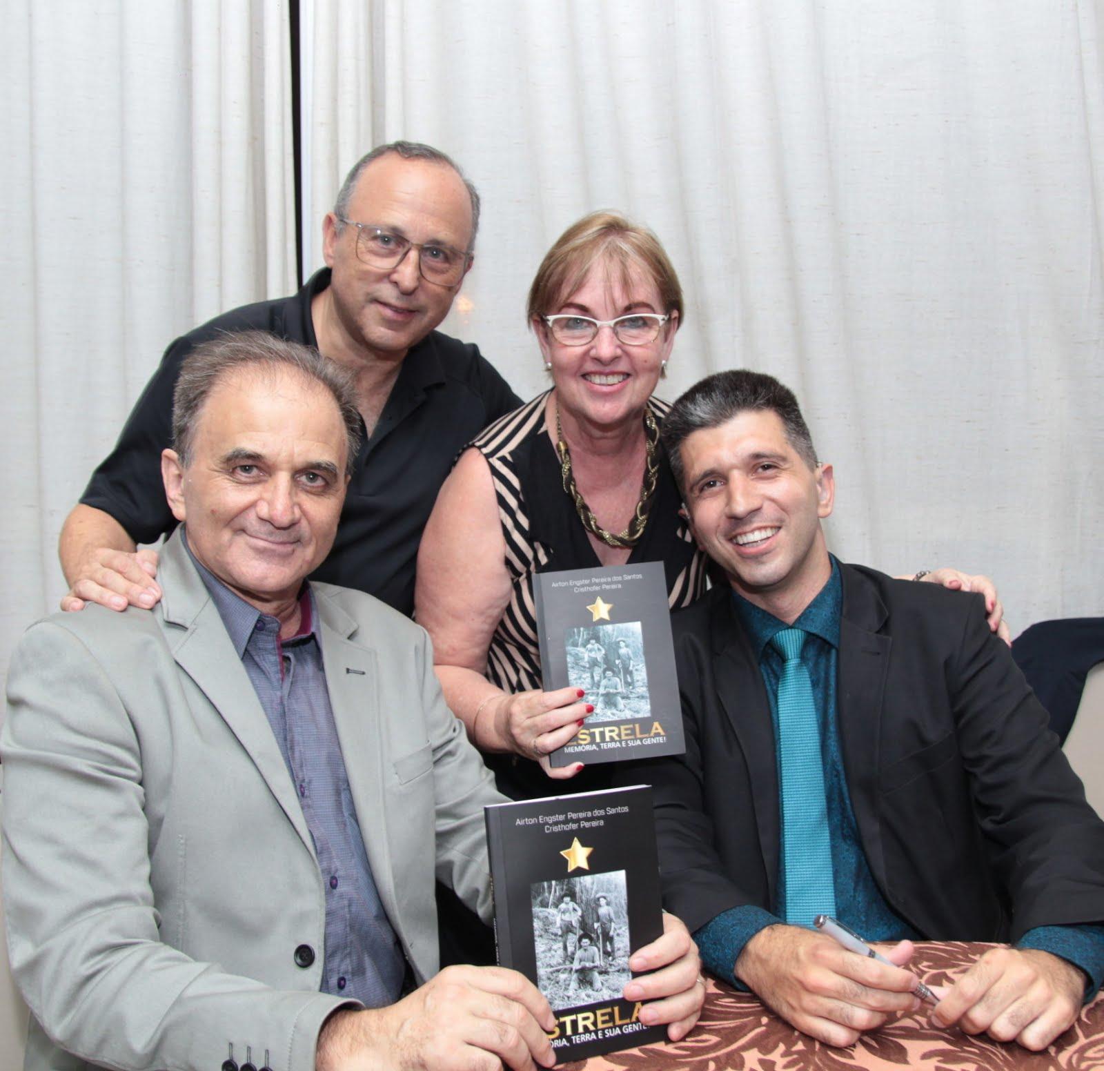 Airton Engster dos Santos, Antônio Veloso, Roseli Veloso e Cristhofer Pereira