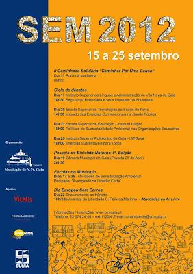 evento 11ª edição da semana europeia da mobilidade