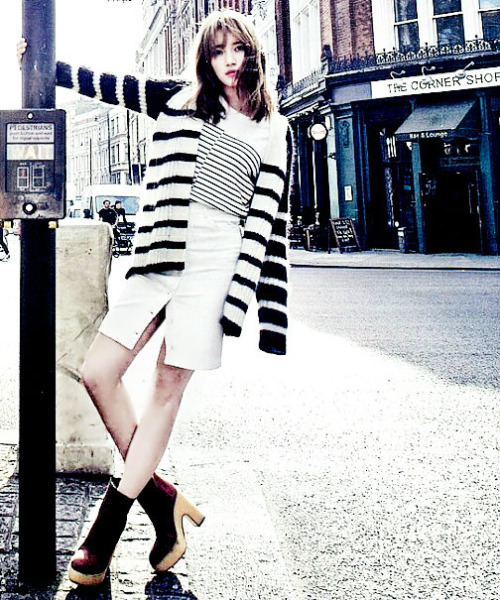 K-Fashion Inspiration: I'm Seeing Stripes by Miss A's Suzy