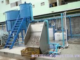 Xử lý nước thải công nghiệp ngành dệt nhuộm