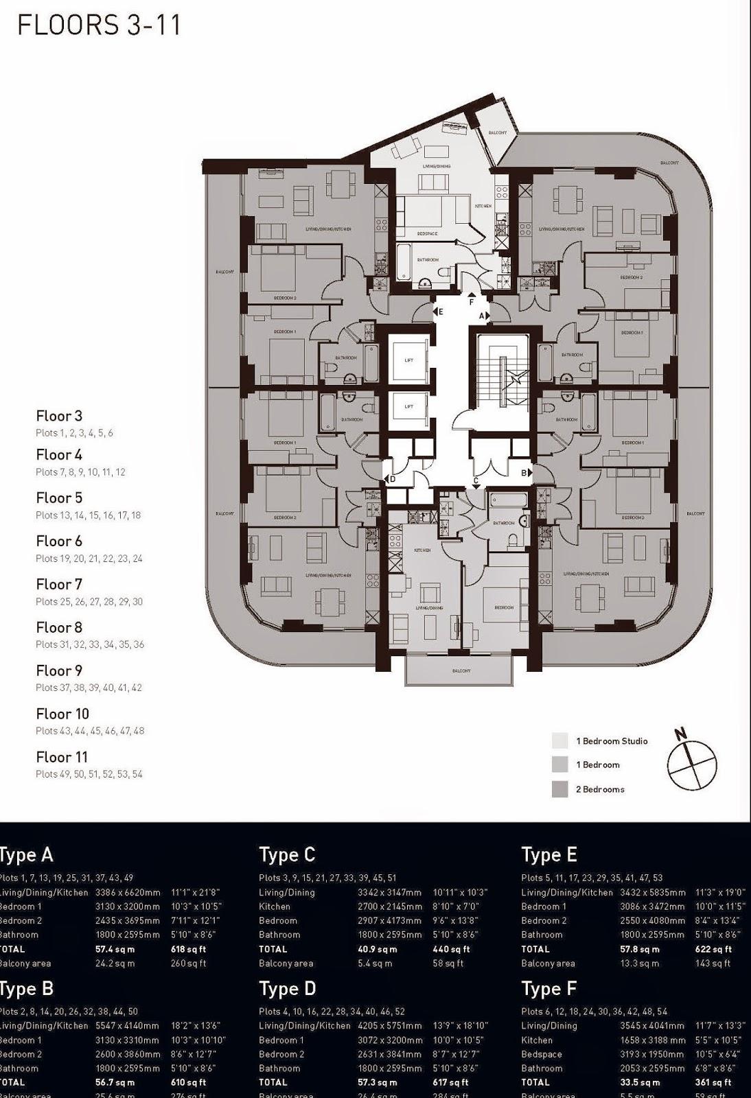 英國倫敦包租、英國房地產仲介、文藝復興樓盤圖