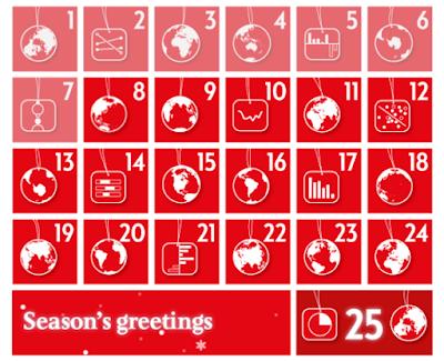 Economist 2015 Christmas calendar