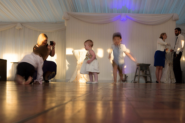 Wedding Photography Doonbeg Ireland, dancing children
