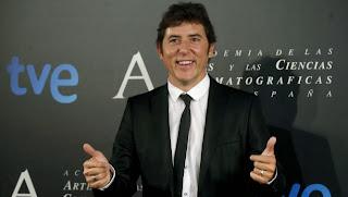 Imagen de Manel Fuentes en la Academia de Cine