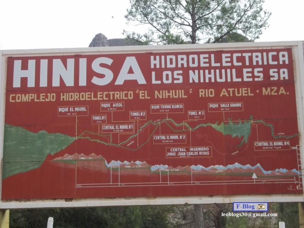 Complejo Hidroeléctrico El Nihuil - Valle Grande