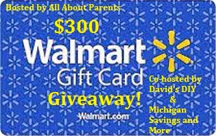 $300 Walmart Gift Card Giveaway